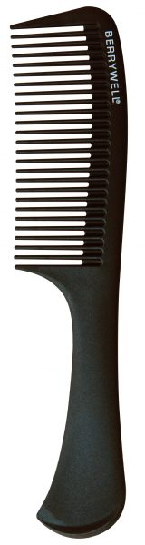 Carbon Handle comb
